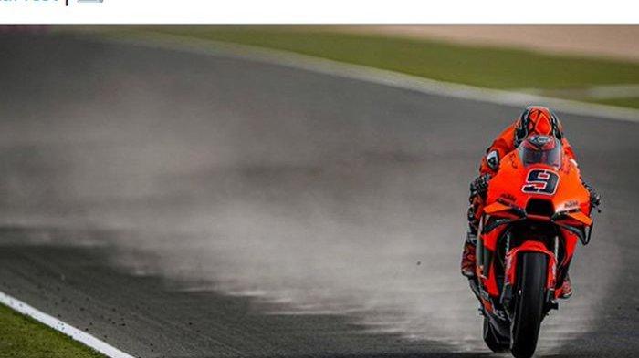 Hasil Tes Pramusim MotoGP 2021 - Badai Pasir Selimuti Losail, Sepi Pembalap, Quartararo Main Uno