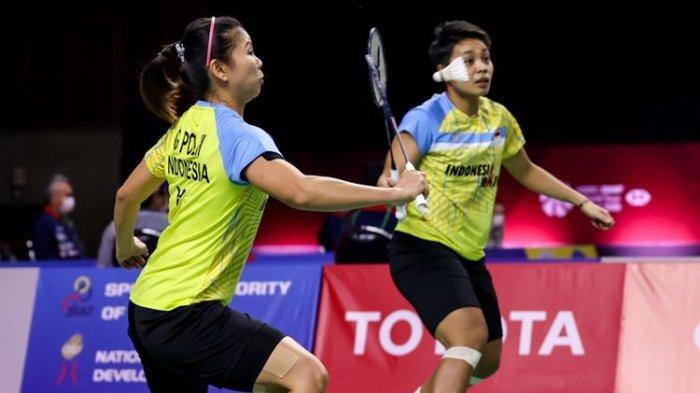 Hasil Thailand Open II 2021 - Greysia Polii/Apriyani Rahayu Gagal Melaju ke Final