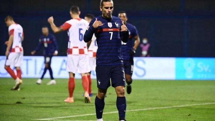 Hasil UEFA Nations League Kroasia Vs Prancis - Griezmann-Mbappe Moncer, Les Bleus Petik Poin Penuh