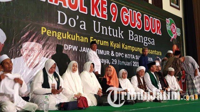Yenny Wahid Kukuhkan FKK Nusantara Dukung Jokowi-Ma'ruf, Tangkal Hoaks Sampai Ke Tingkat Bawah