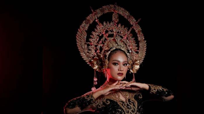 Headpiece Etnik Bernuansa Gold Karya Ipank Capello Gambarkan Sosok 'Dewi' dalam Legenda Kerajaan