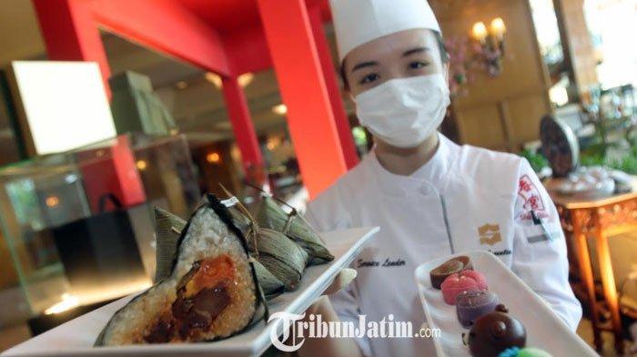 Bakcang Berbagai Isian Manis-Asin untuk Peringati Dragon Boat Festival ala Shangri-La Hotel Surabaya