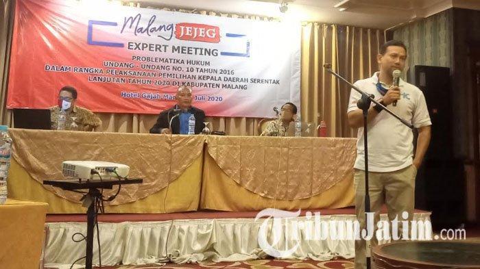 Tim Malang Jejeg Anggap Proses Verifikasi Pilkada Malang 2020 seperti Kualifikasi Tim Sepak Bola