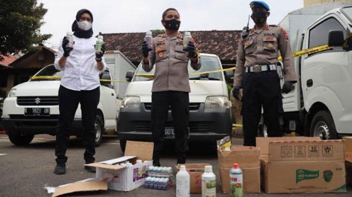 Gerebek Home Industri Pupuk Cair Oplosan Kediri yang Beromzet Rp 40 Juta, 11 Orang Diamankan Polisi