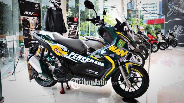 Satu-Satunya di Indonesia, Simak Spesifikasi Lengkap Honda ADV150 Edisi Persebaya