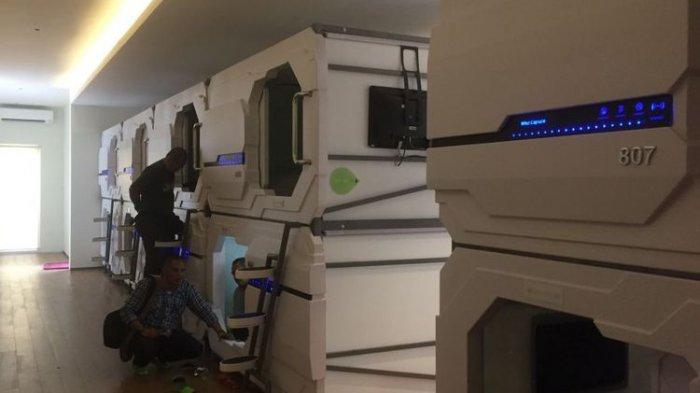 Fasilitas Mewah Tarif Murah Meriah, Sensasi Menginap di Hotel Kapsul Trawas Tak Terlupakan