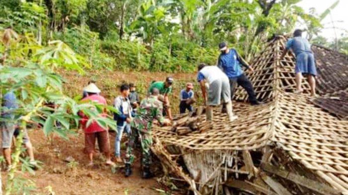Hujan Deras di Magetan, Terjang Rumah Manula Sebatangkara