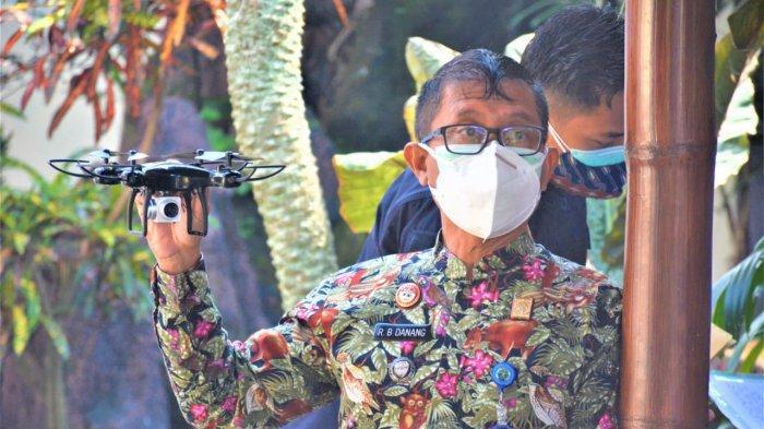 Lapas Kelas I Malang Gunakan Drone, Awasi Keamanan Lingkungan Lapas dan Warga Binaan