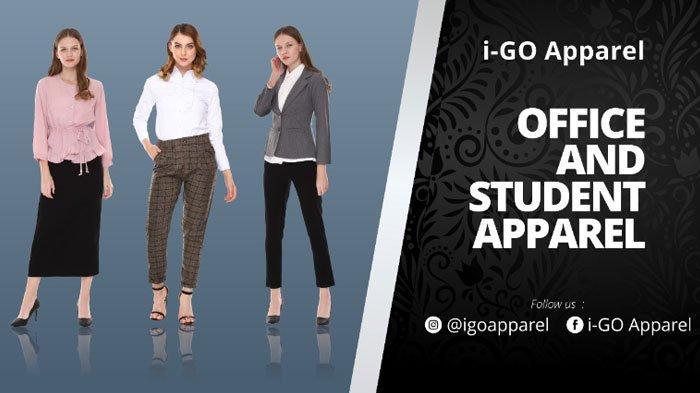 Bangun Personal Branding denganPakaian Kerja Premiumi-GO Apparel, Luwes,OOTD Wanita Modern
