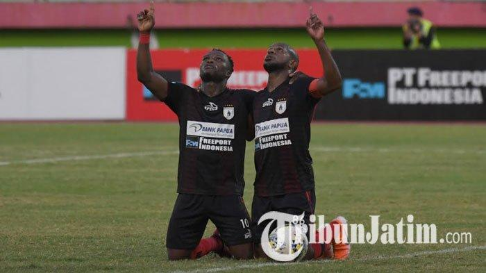 Hasil Madura United Vs Persipura 0-2 Memutus Catatan Apik Laga Kandang Tuan Rumah