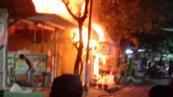 Detik-detik Rumah di Surabaya Terbakar, Ibu dan Anak Tewas, Tak Sempat Selamatkan Diri