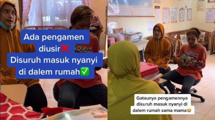 VIRAL Ibu-ibu Suruh Pengamen Masuk Rumah Tak Tega Lihat Kepanasan di Luar, Aksinya Tuai Pujian