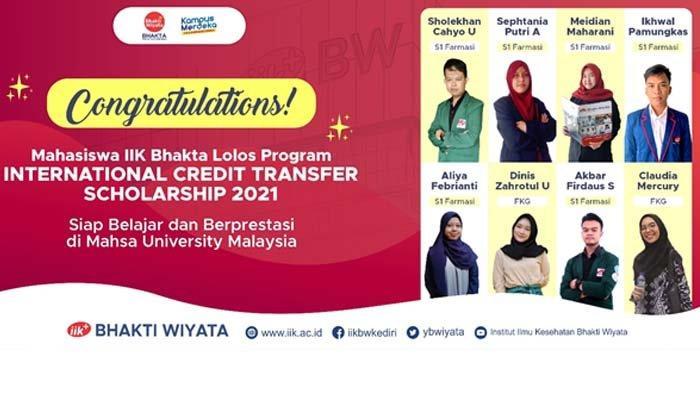 IIK Bhakti Wiyata Kediri Kirimkan 8 Mahasiswa Kuliah Luar Negeri Melalui Program ICT 2021