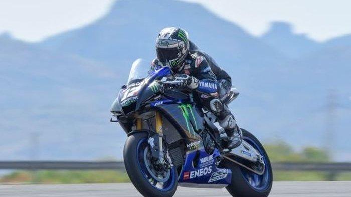 Curi Start Latihan, Maverick Vinales Ikut Tes Pramusim World Superbike
