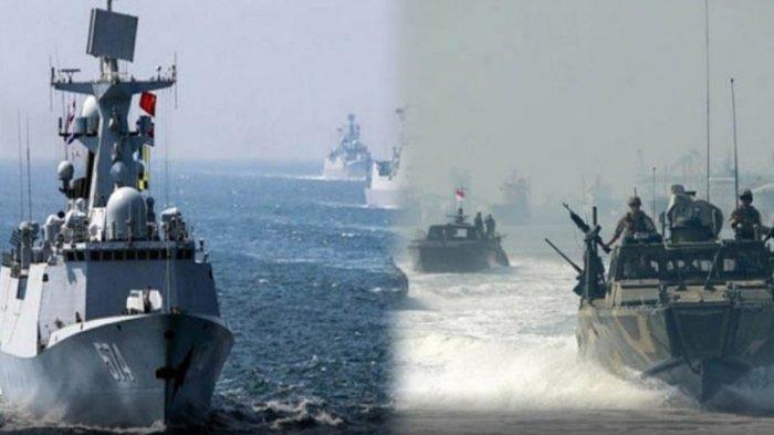 Aktivitas Militer China di Laut China Selatan Jadi Sorotan Raja Malaysia, Bakal Adu Kekuatan?