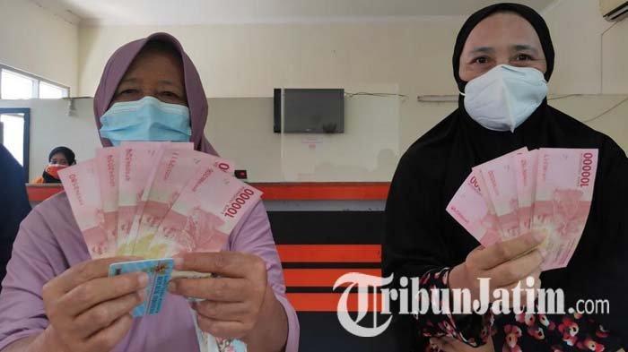 Nenek 8 Cucu di Kota Malang Semringah Bansos Pemerintah Pusat Turun, Bersyukur Dapat Rp 600 Ribu