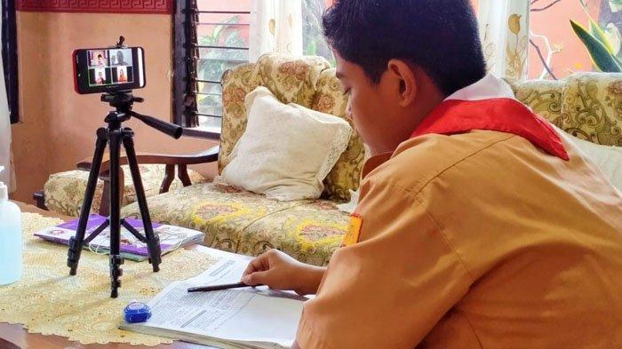 Terapkan Aplikasi Daring Si-Prestasi, Upaya Dindik Nganjuk Kembangkan Pendidikan Dimasa Pandemi