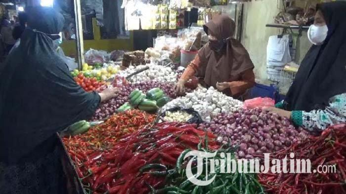 Sempat Anjlok, Harga Cabai Rawit dan Bawang Putih di Kota Malang Mulai Merangkak Naik