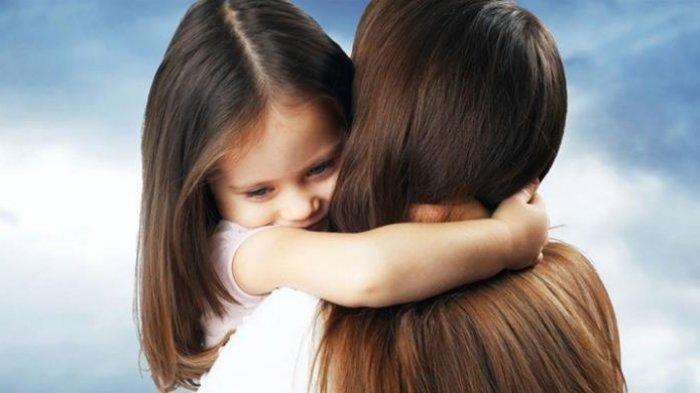 (ILUSTRASI) anak dan ibu.