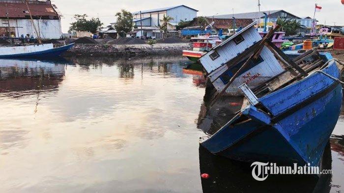 Kapal Laut Bulan Purnama Dikabarkan Hilang, Polsek Pasean Pamekasan Koordinasi dengan Basarnas