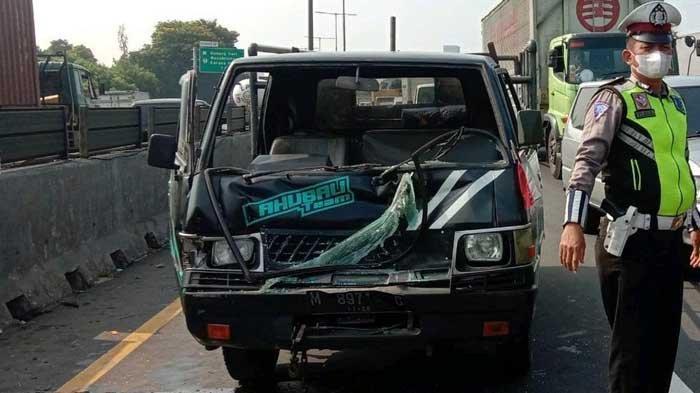 5 Kendaraan Terlibat Kecelakaan Beruntun di Tol Perak-Waru, Polda Jatim: Kurang Jarak Aman