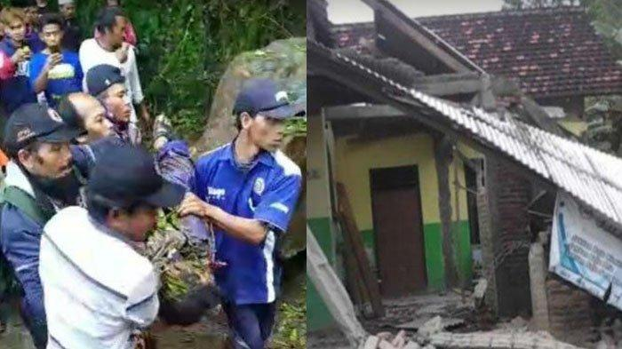 Dahsyat Gempa Malang, Cerita Warga Lumajang 'Motor Hancur, Istri Patah Tulang', Suami Tewas Tertimpa
