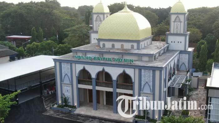 Resmikan Masjid Baitul Mumin di Penghujung Ramadan, Kapolres Tuban: Masyarakat Bisa Salat di Sini