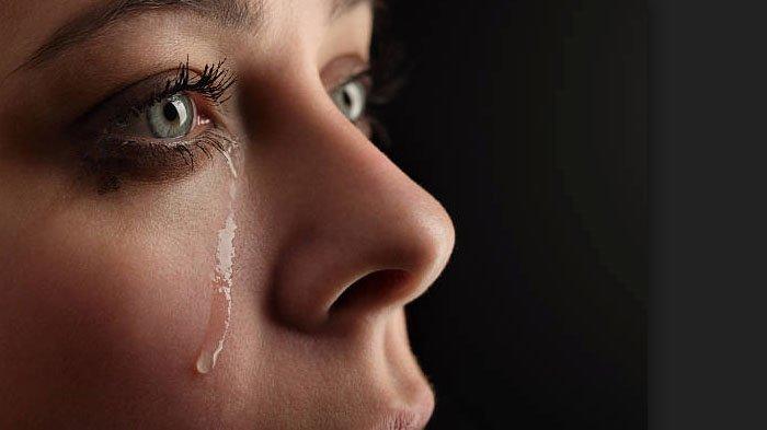 Ilustrasi menangis