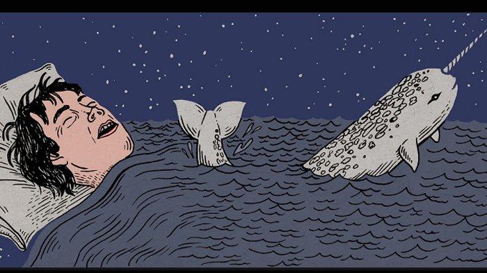 Ilustrasi mimpi basah