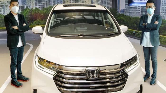 New Honda Odyssey, Mobil yang Bisa Berhenti Sendiri Tanpa Direm Sudah Bisa Diinden di Jawa Timur