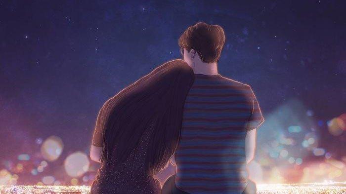 Lama Jomblo 10 Ilustrasi Ini Bisa Bikin Kamu Inget Lagi Betapa Indahnya Jatuh Cinta Halaman 3 Tribun Jatim