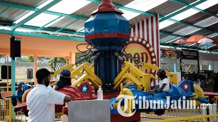 Pasar Wisata Rohjoyo, Pasar Malam di Kota Batu dengan Jajanan Murah Meriah, Ada Berbagai Permainan