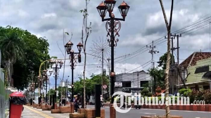 Jaga Kenyamanan dan Keindahan Pedestrian Nganjuk, Dishub Bentuk Satgas Pengawas Rambu