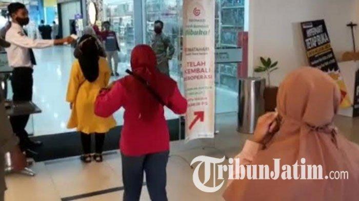 Imbauan Belanja di Mall Kediri saat Pandemi, Pengunjung Dibatasi hingga Larangan Pakai Kamar Pas