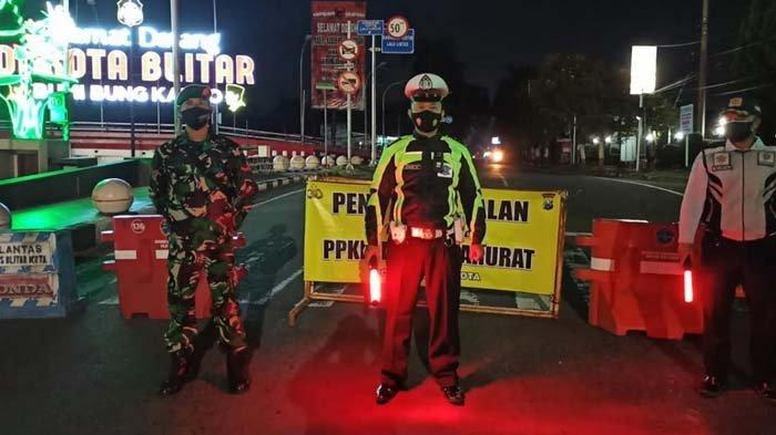 Polisi Tambah Titik Penyekatan Akses Masuk Kota Blitar Selama PPKM Darurat, Kini Ada Sembilan Lokasi
