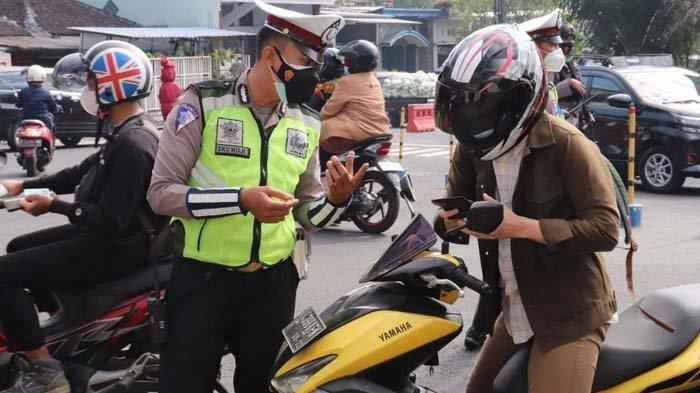 PPKM Darurat, Pos Penyekatan di Kota Batu Diperketat, Masyarakat Diminta di Rumah Saja