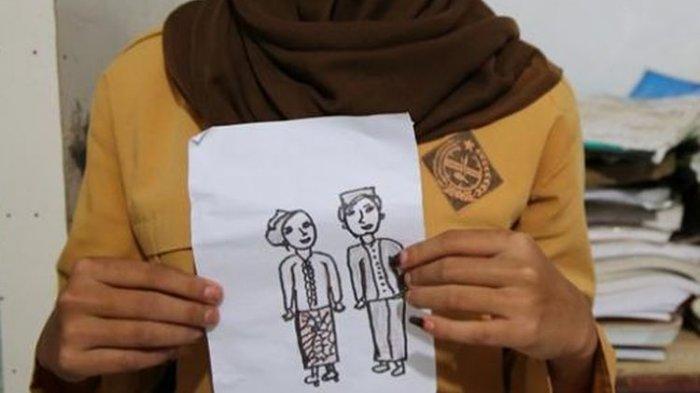 ILUSTRASI Pernikahan Dini - VIRAL ABG 15 dan 12 Tahun Dinikahkan karena Pulang Maghrib