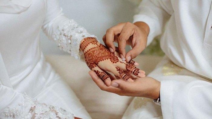 Ilustrasi pernikahan yang nyaris batal karena didatangi istri sah