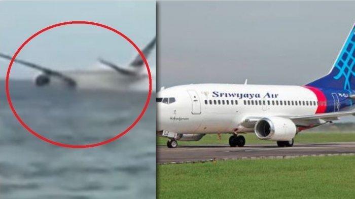 Ilustrasi pesawat dugaan penyebab jatuhnya Sriwijaya Air SJ182