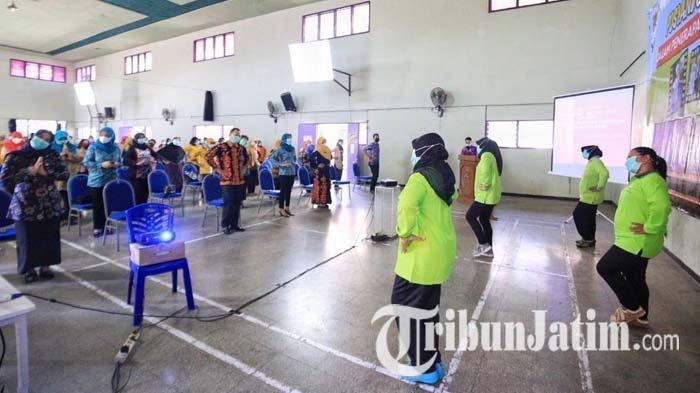 Kelurahan Zona Hijau Covid-19 di Kota Kediri Boleh Menggelar Posyandu Balita dan Lansia