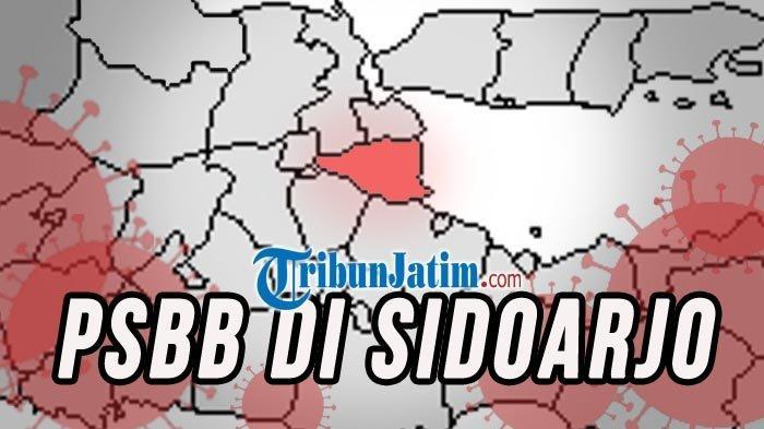 Rincian Aturan Sementara PSBB di Sidoarjo, Motor Tak Boleh Berboncengan hingga Warung Tutup 8 Malam