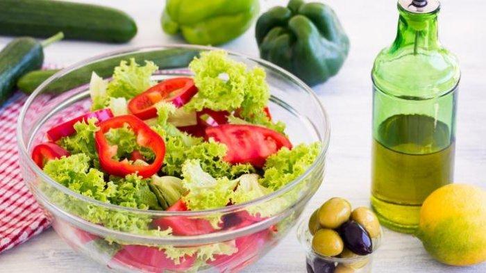 Cara Membuat Olahan Daun Selada Jadi Salad Sayur ala Jepang, Bikin Cuma 10 Menit
