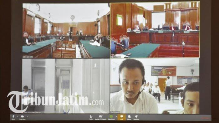Rekor Baru di Dunia Peradilan Indonesia, 1.509 Perkara Digelardalam Sidang Online saat Wabah Corona