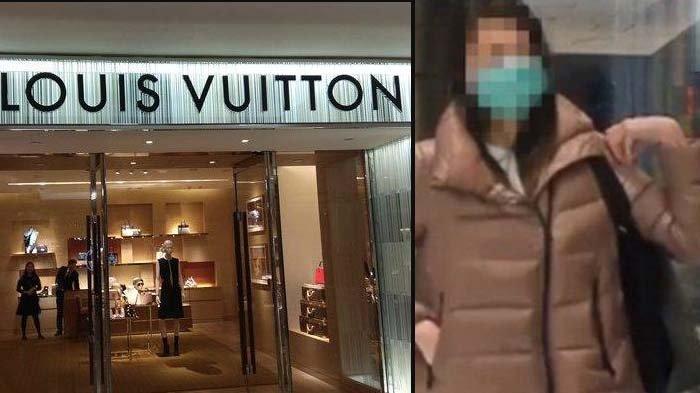 Kebelet Tampil Mentereng, Wanita Indonesia Curi Tas Louis Vuitton Rp700 Juta, sempat Mau Kabur