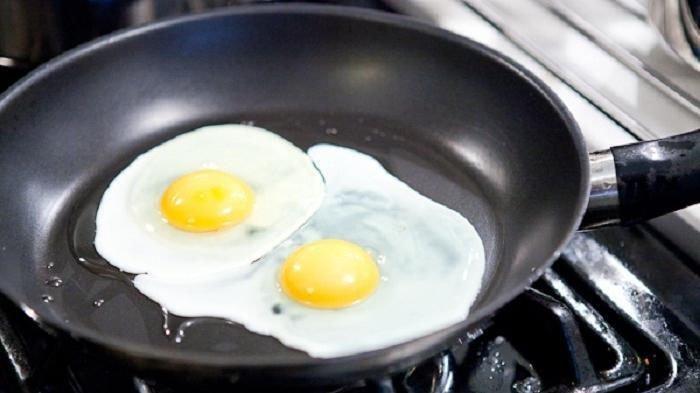 Ilustrasi telur mata sapi