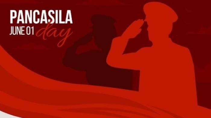 Ilustrasi ucapan Selamat Hari Lahir Pancasila.