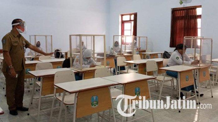 Gelar Ujian Kenaikan Kelas, Delapan Sekolah di Tulungagung Ajukan Izin Tatap Muka