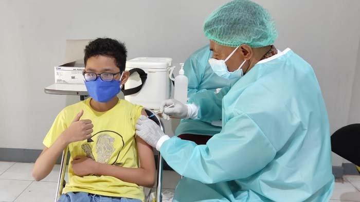 Vaksinasi Covid-19 di Jember Sasar Anak dan Difabel, Permintaan untuk Usia 12 Tahun Cukup Besar