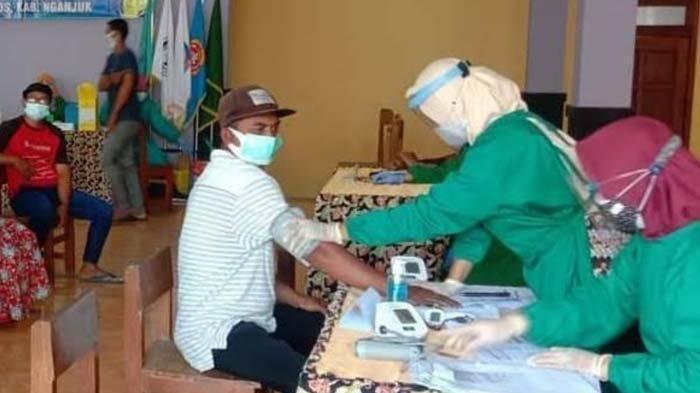 Vaksinasi Covid-19 di Nganjuk Dipantau Intensif, Plt Bupati: 70 Persen Penduduk Harus Divaksin