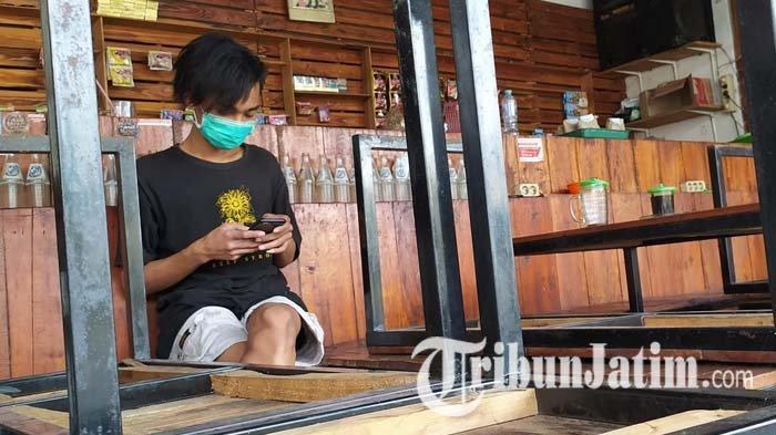 Cerita Penjaga Warkop di Surabaya Gigit Jari Dipatroli Petugas Setiap Hari Saat PPKM Darurat